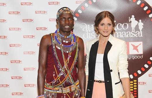¿¡Olivia Palermo nueva embajadora del proyecto Maasai de Pikolinos?!