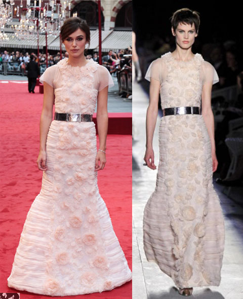 Keira Knightley de Chanel