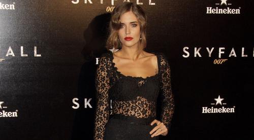 Clara Alonso en la premiere de Skyfall
