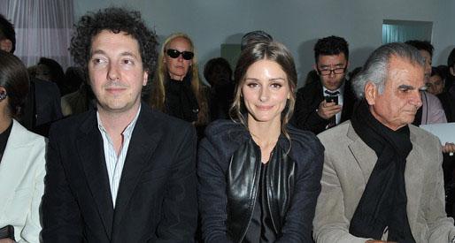Olivia Palermo: Front Row en Dior