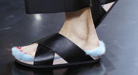 ¿y estos zapatos, Céline?