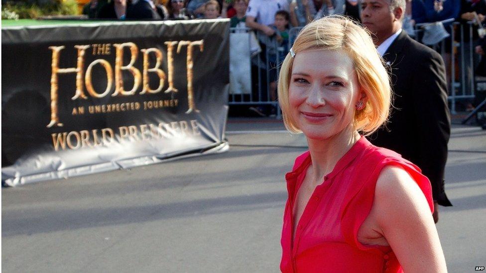 El regreso de Cate Blanchett con un look de 10
