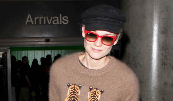 Looks de aeropuerto: Diane Kruger y Marion Cotillard