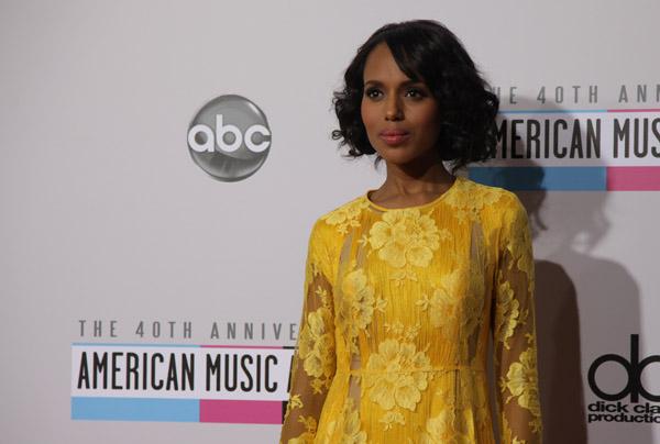 La alfombra roja de los American Music Awards 2012
