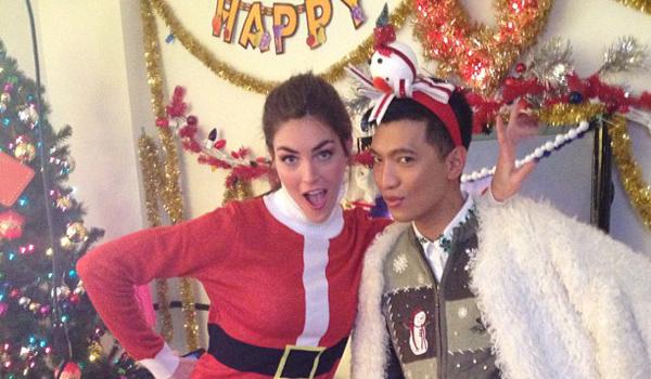 Feliz Navidad de parte de Rebecca Minkoff y compañía