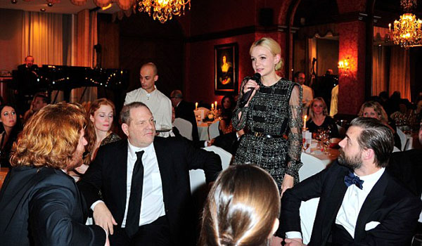 De evento solidario con Carey Mulligan, Poppy Delevingne y Arizona Muse
