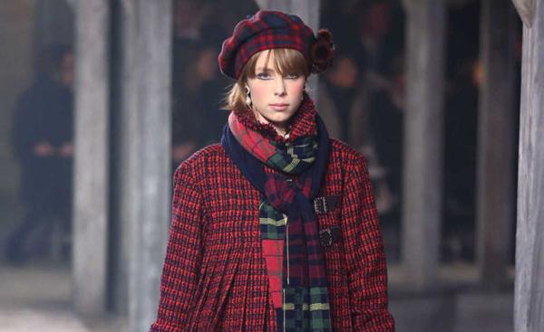 Chanel homenajea a Escocia