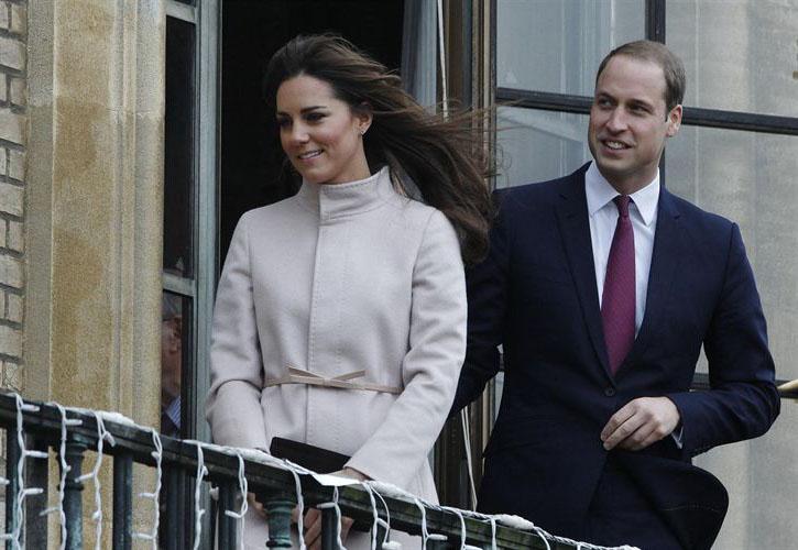 Los duques de Cambridge embarazados