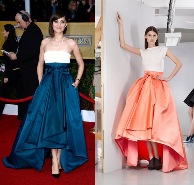 Marion+cotillard+sag+awards+2013+dior