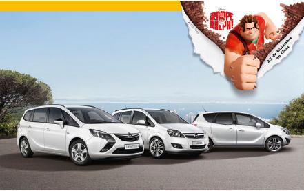 Actualizado ganador: Sorteo Opel te lleva al cine a ver Rompe Ralph!