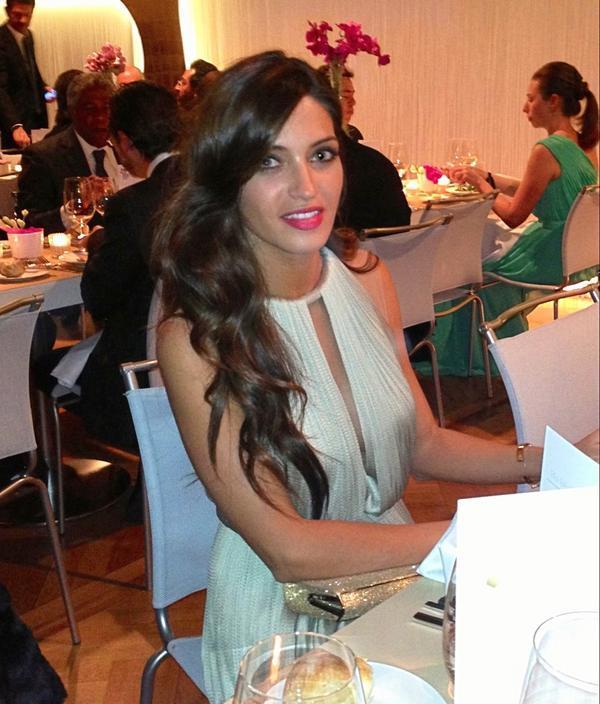 Sara+carbonero+maria+lucia+hohan+balon+de+oro+2013