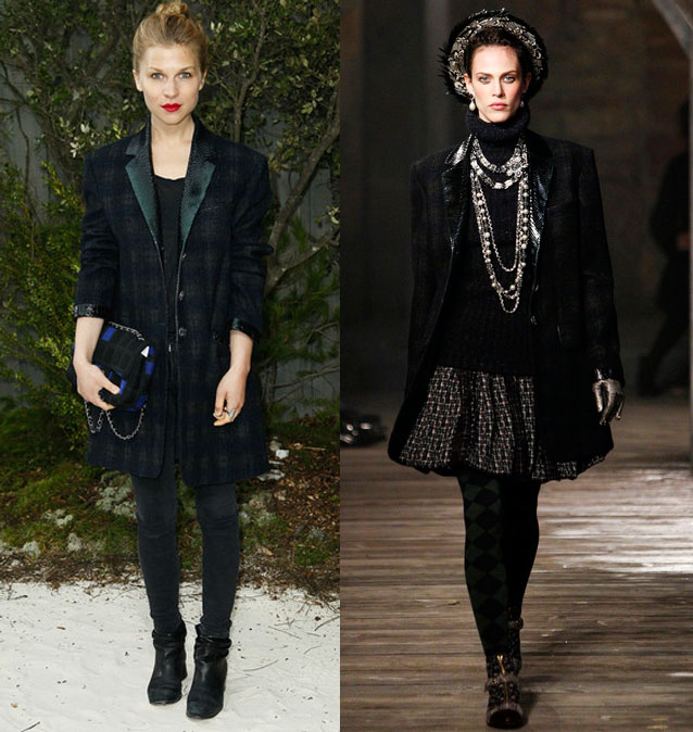 clemence+poesy+chanel