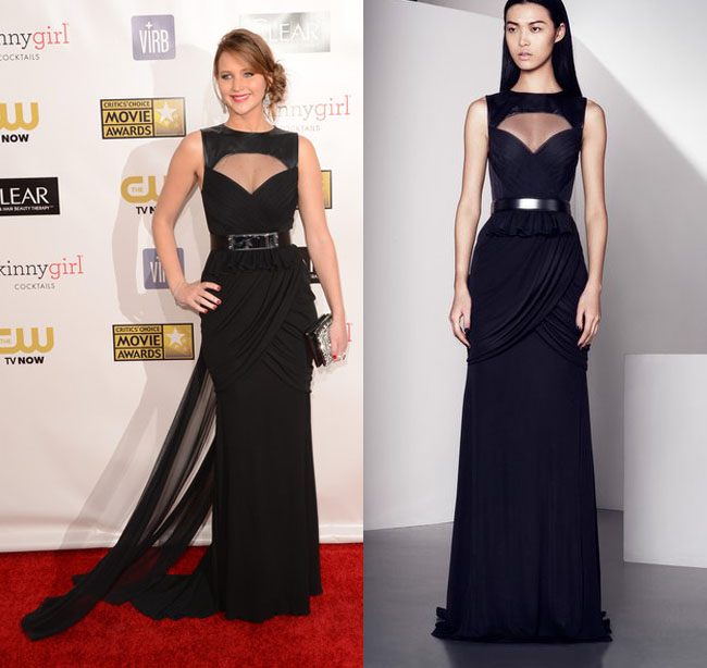 jennifer+lawrence+prabal+gurung+critics+choice+awards