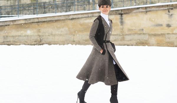 Invitados vip en el desfile de Alta Costura de Dior