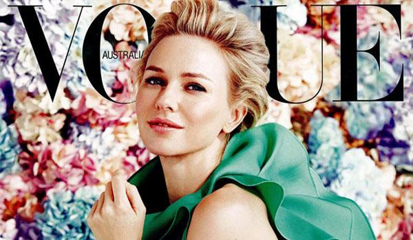 Portadón de Naomi Watts para Vogue Australia