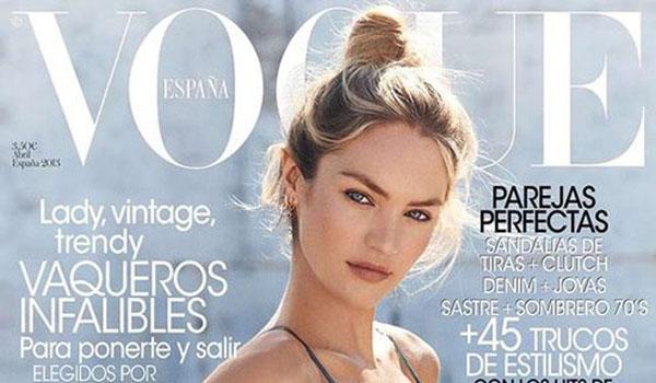 Y Vogue España también apuesta por los cropped tops