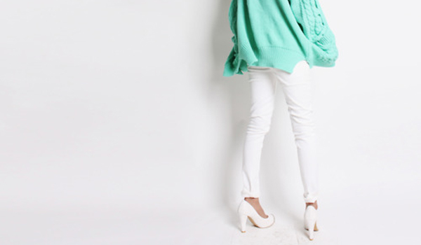 El gran post del pantalón blanco