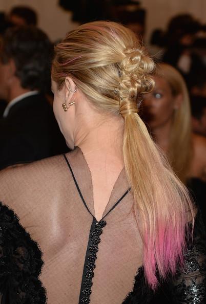 Lo mejor del look de Diane Kruger, su peinado! MET Ball 2013