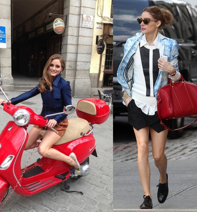 olivia+palermo+shorts+zara