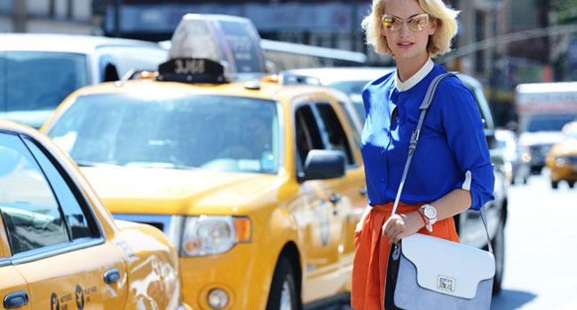Street Style NYFW Día 3. Miroslava Duma, Solange Knowles, Olivia Palermo y más