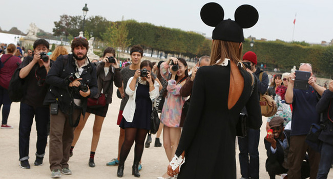 Definitivamente, París no esta siendo la fashion week de Anna dello Russo