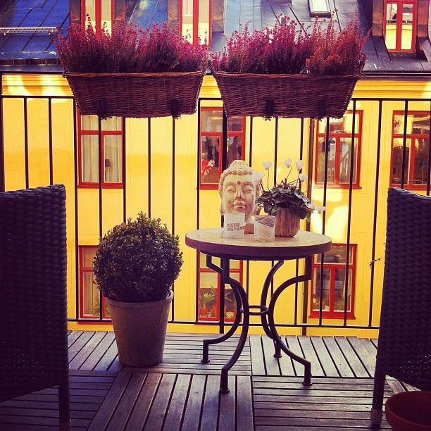 Cómo decorar mini-balcones #DecoPost - BE TRENDY MY FRIEND