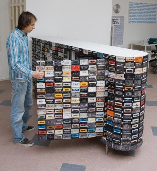 cassettes upcycling betrendymyfriend
