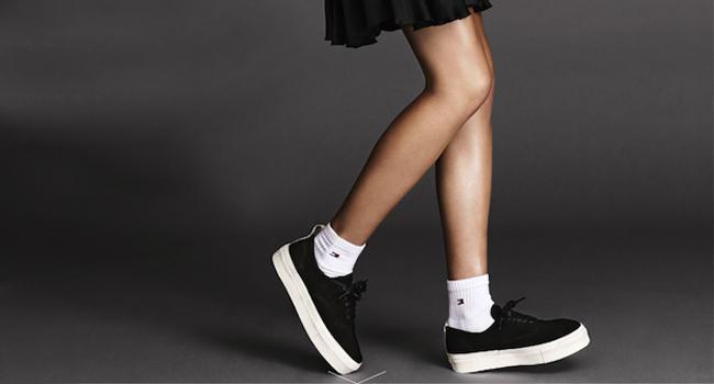 ELLE SWEDEN white socks cover