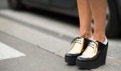 Céline Platforms: ¿sí o no? Zara dice sí (si son metálicos) y Saint Laurent también