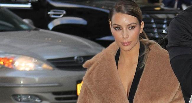 Maxi abrigos de Max Mara para Kim Kardashian