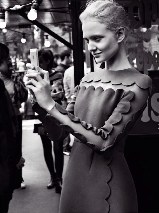 ELLE Poland Selfie 3