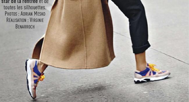 Otra editorial más con sneakers: Glamour France Noviembre 2013