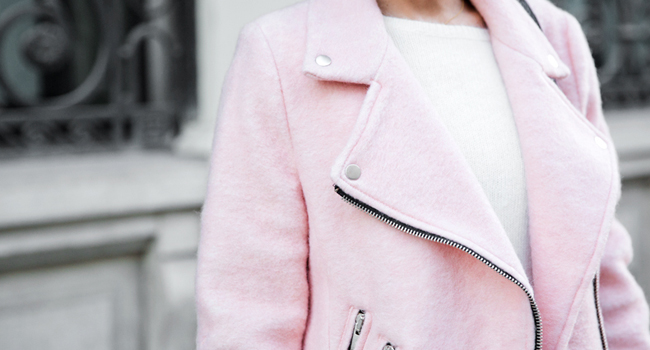 Must-have: Light Pink jacket