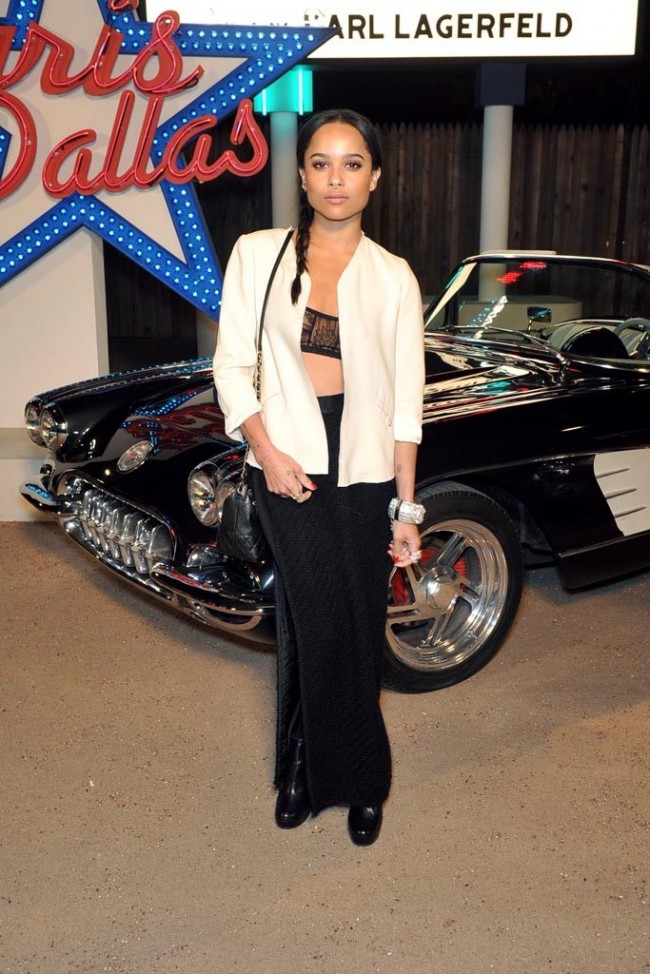 zoe-kravitz-at-chanel-dallas-front-row
