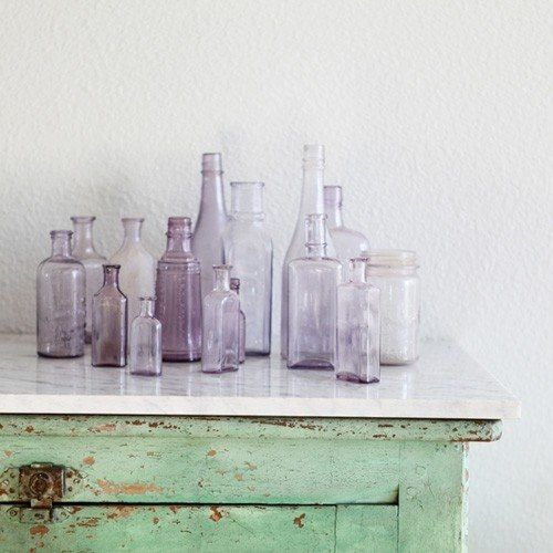 botellas cristal color Pantone 2014 www.betrendymyfriend.com