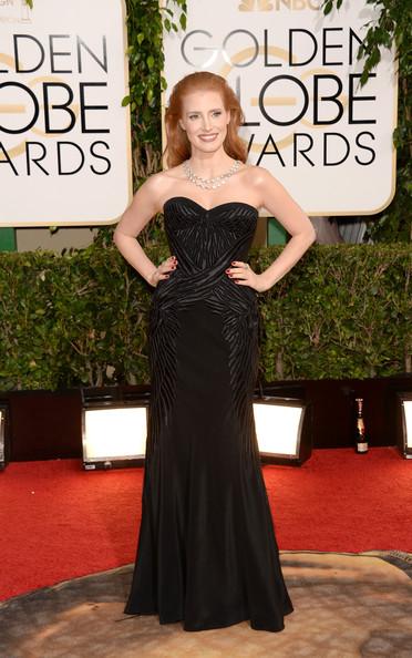 Jessica+Chastain+71st+Annual+Golden+Globe+FGDQ64H4Unnl