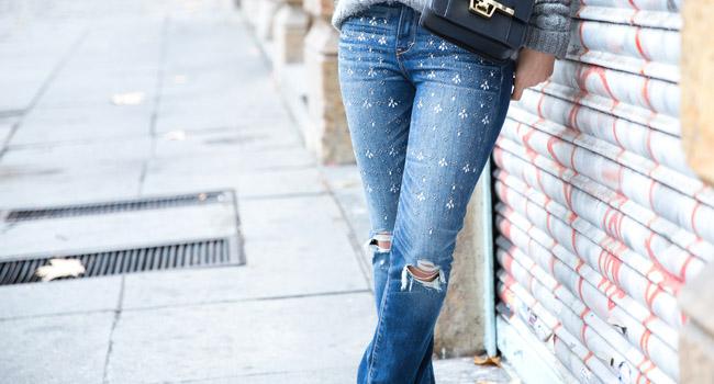¿Se te caen a trozos los jeans? Pues que sepas que molas #streetstyle