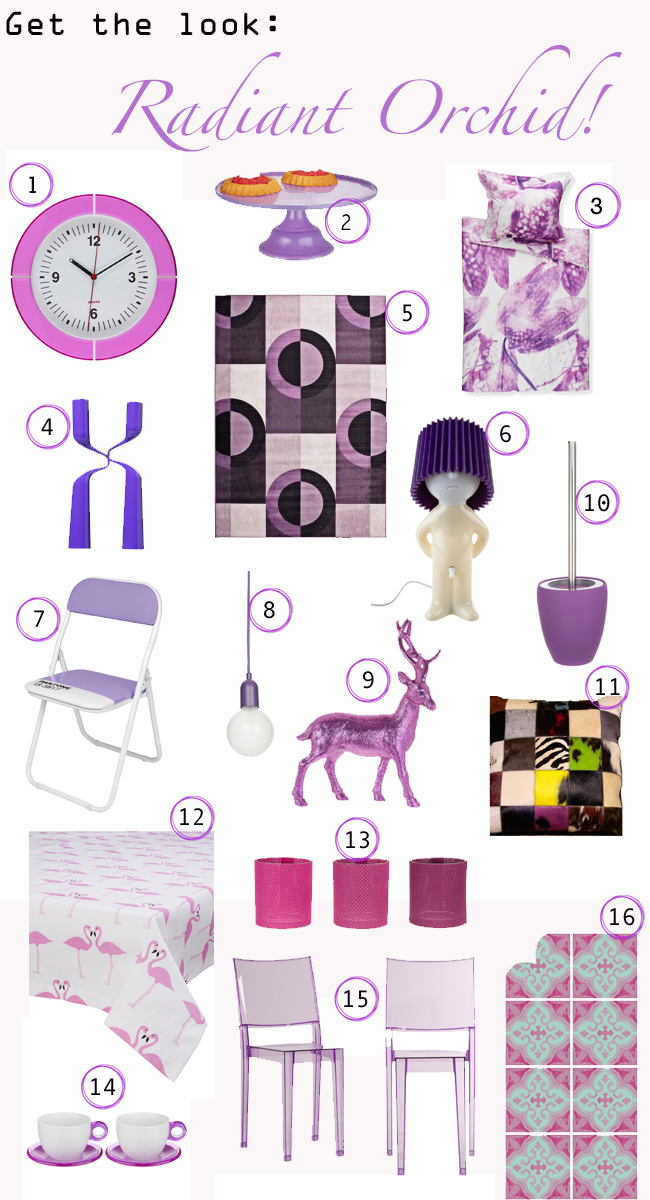 look radiant orchid