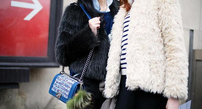 Los mejores abrigos del #streetstyle de Paris