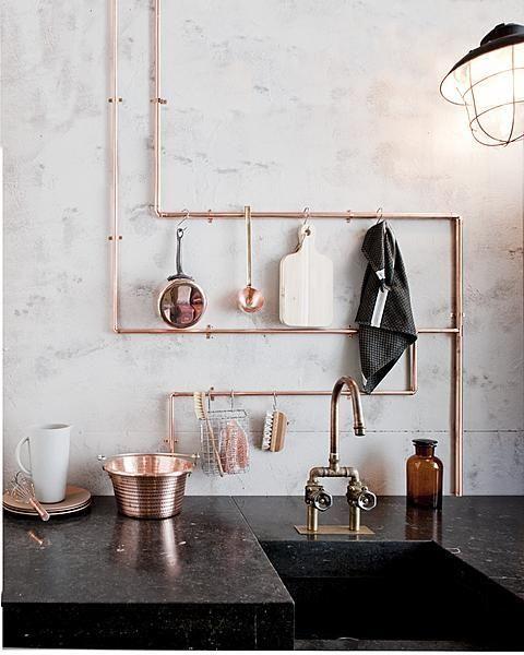 cobre en cocinas betrendymyfriend