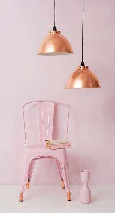 silla rosa y cobre betrendymyfriend