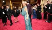 Elsa Pataky de Elie Saab en los #OscarsFMA. Olivia Wilde de Valentino