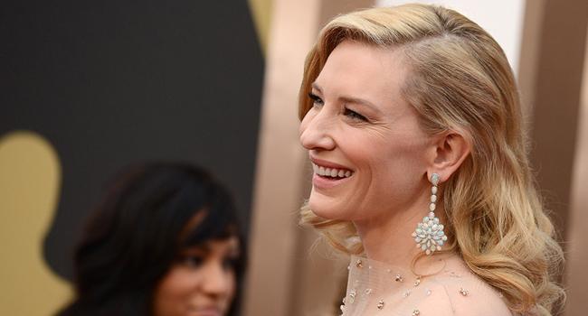 Mejor vestidas Oscars 2014 #OscarsFMA: Cate Blanchett de Armani Privé