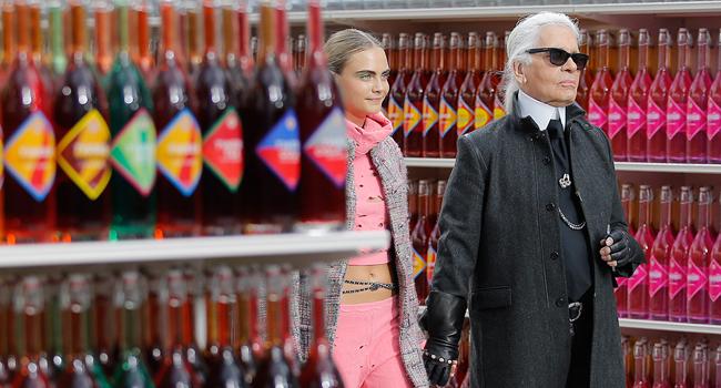 El supermercado de Chanel Fall14 #PFW