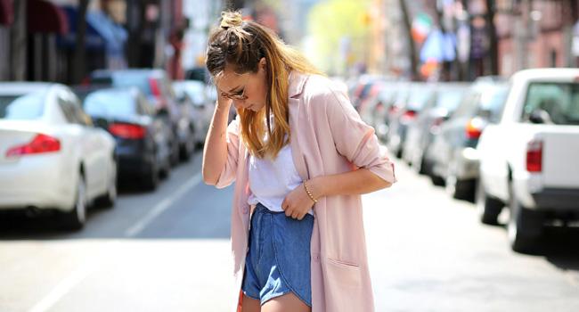 #Lookdeldia: las chaquetas extralargas #streetstyle #ootd #trendalert