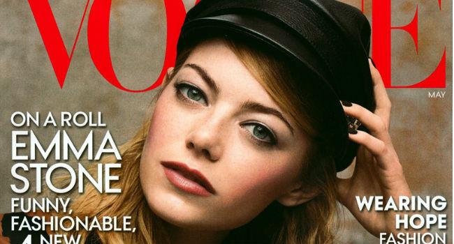 Emma Stone portada Vogue US Mayo 2014