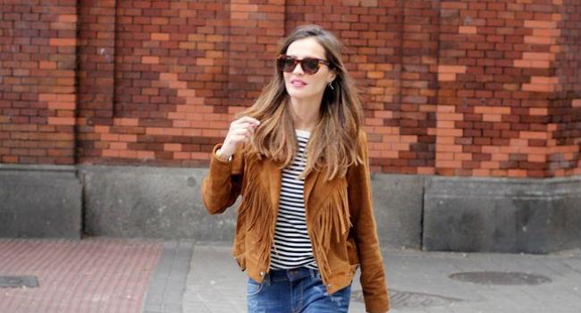 Obsesión del día: la chaqueta de flecos de Lady Addict #BloggerStyle