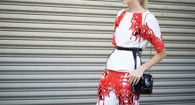 Consigue el look: los pantalones de Tibi de Lena Perminova #shopBTMF
