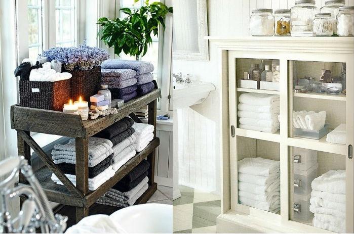 los must de los cuartos de baño con encanto. #decopost - be trendy ... - Muebles Toalleros Para Banos