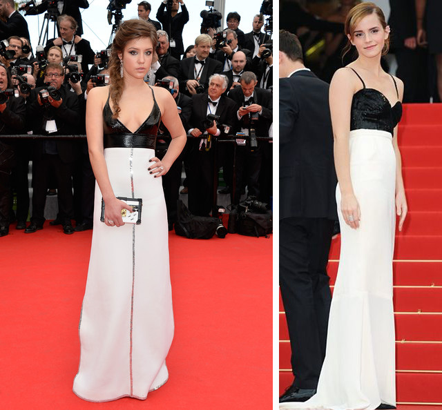 Adele Exarchopoulos cannes film festival 2014 Emma Watson Chanel